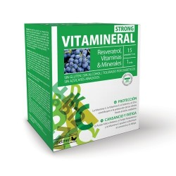 Dietmed vitamineral strong 15 ampollas